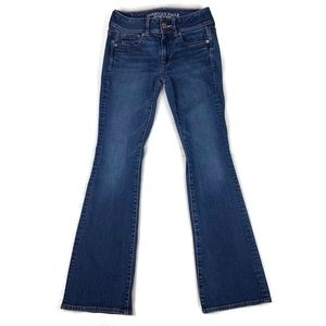 American Eagle Jeans Kick Boot Stretch 0 Short